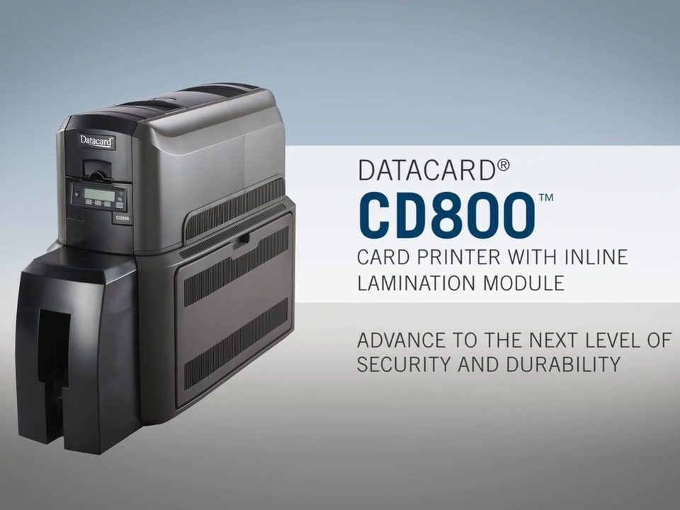 CD800 Card Printer with Lamination